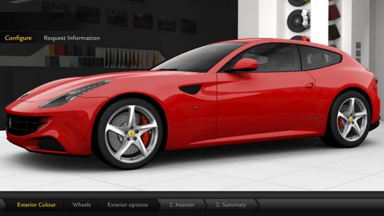 Ferrari FF konfigurátor!