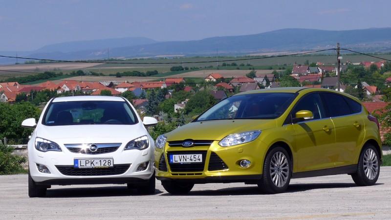 Ford Focus vs. Opel Astra (2011) összehasonlító teszt - Presztízskérdés 1ac05af6ea