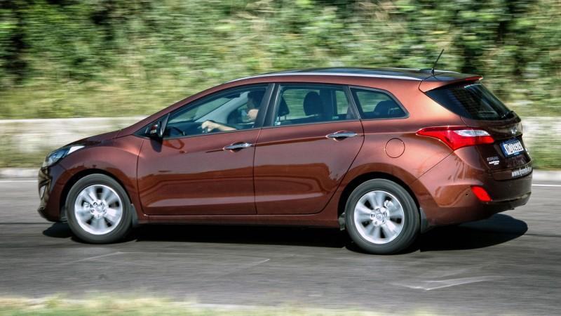 Hyundai i30 cw 1.6 CRDi (2012) teszt - A boldogító igen fe0c6eee52