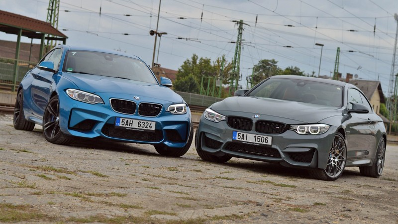 M4 Coupé Competition vs. BMW M2 Coupé teszt - Szerelem, szeretet