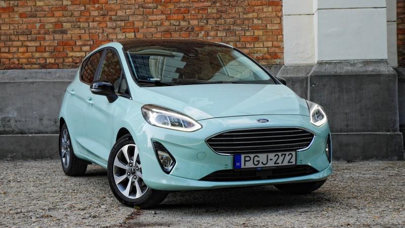 Ford Fiesta 1.0 EcoBoost teszt (2017) – Üdítően komoly 0d18a461f6