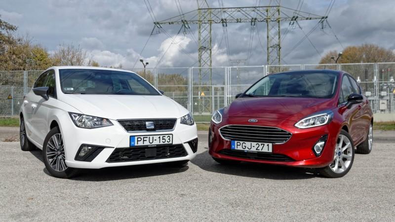 Ford Fiesta vs. Seat Ibiza összehasonlító teszt (2017) – Mások 32c5a03473