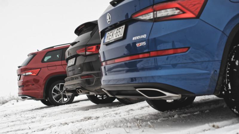 Cupra Ateca vs. Škoda Kodiaq RS (2019) menetpróba – Egyedülállók 409b258036