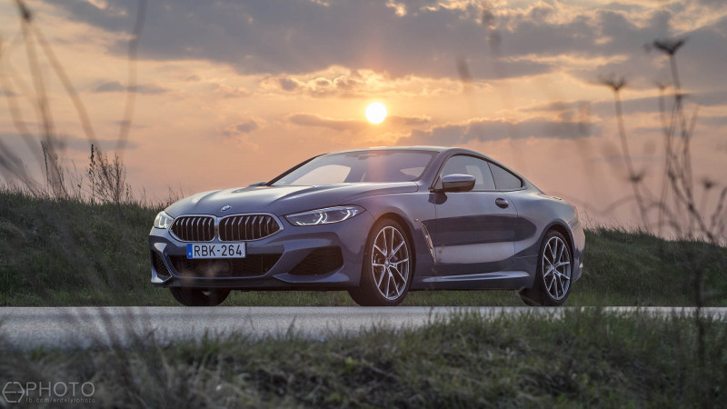 df7198e9a2 BMW M850i xDrive Coupé (2019) teszt - Felsőbbrendű